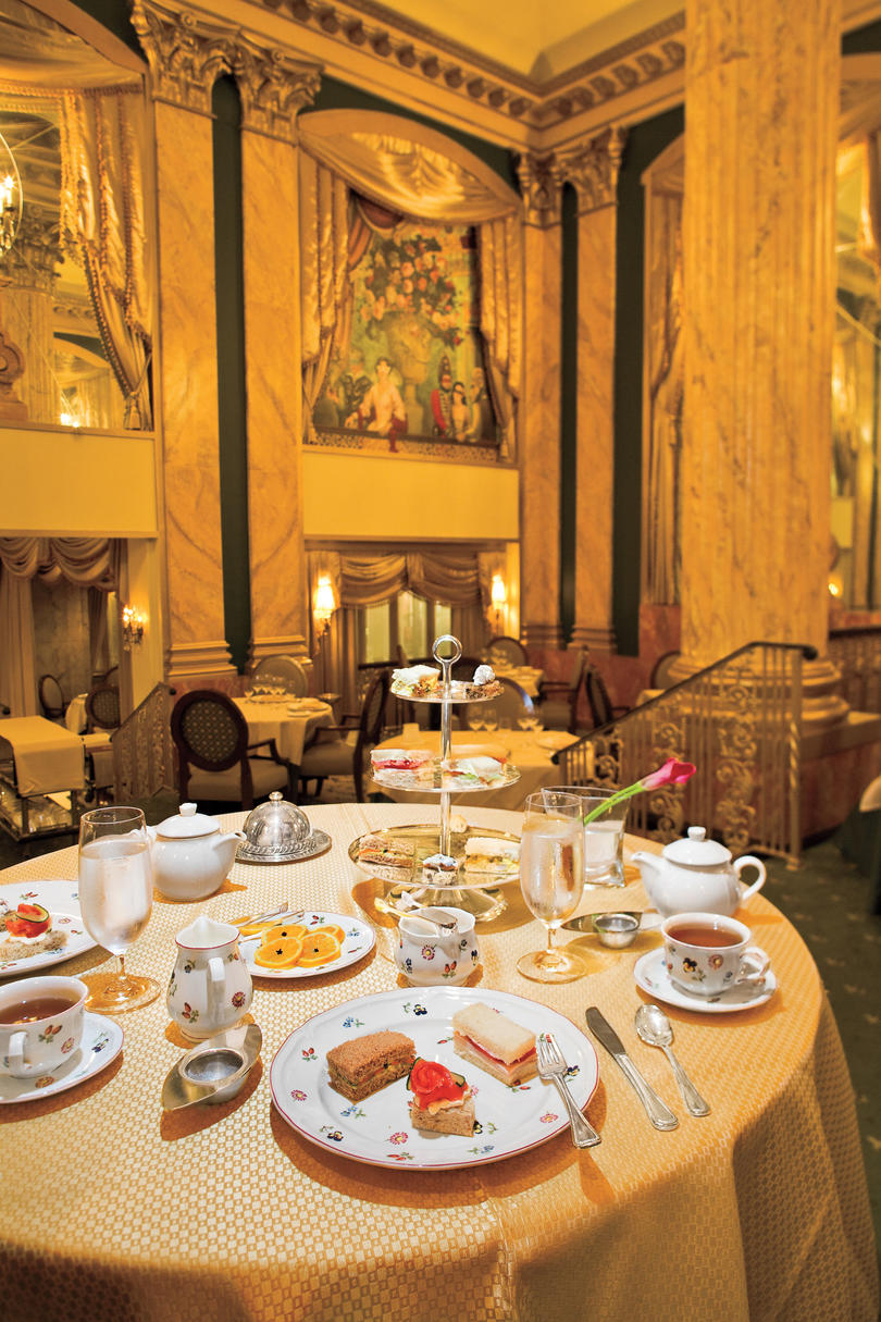 Tea at The Peabody Hotel's Chez Philippe
