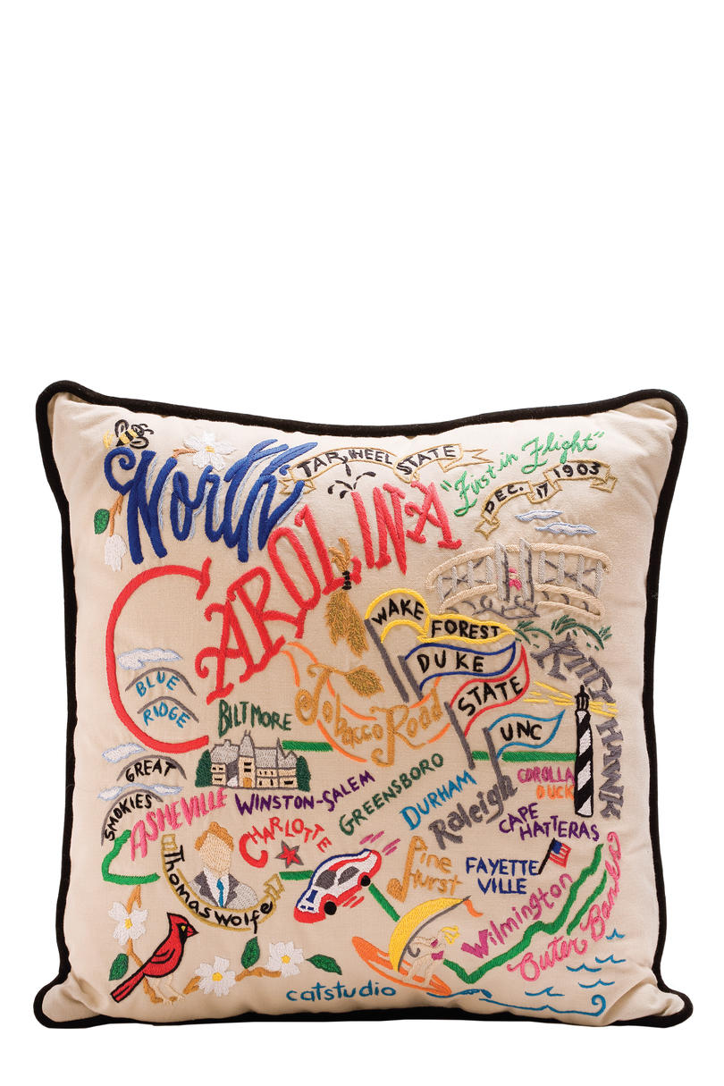 RX_ State Themed Pillows