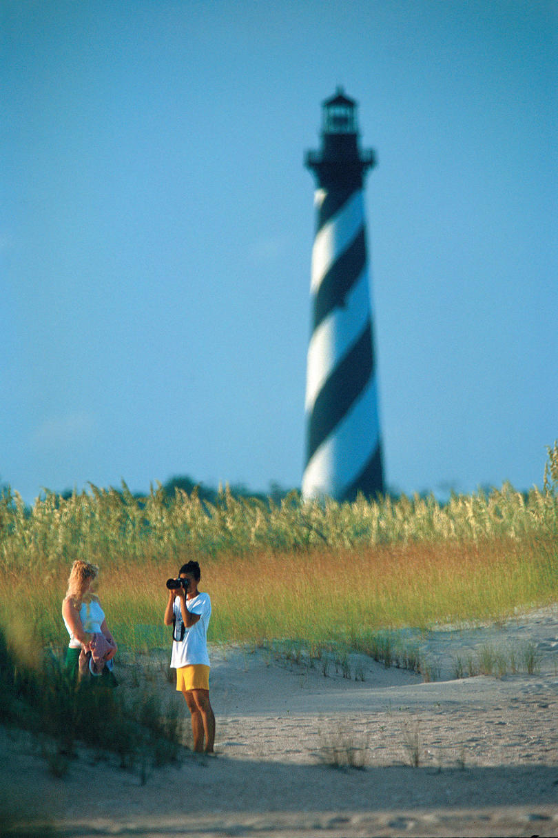 Stroll Along the Beach at Cape Hatteras