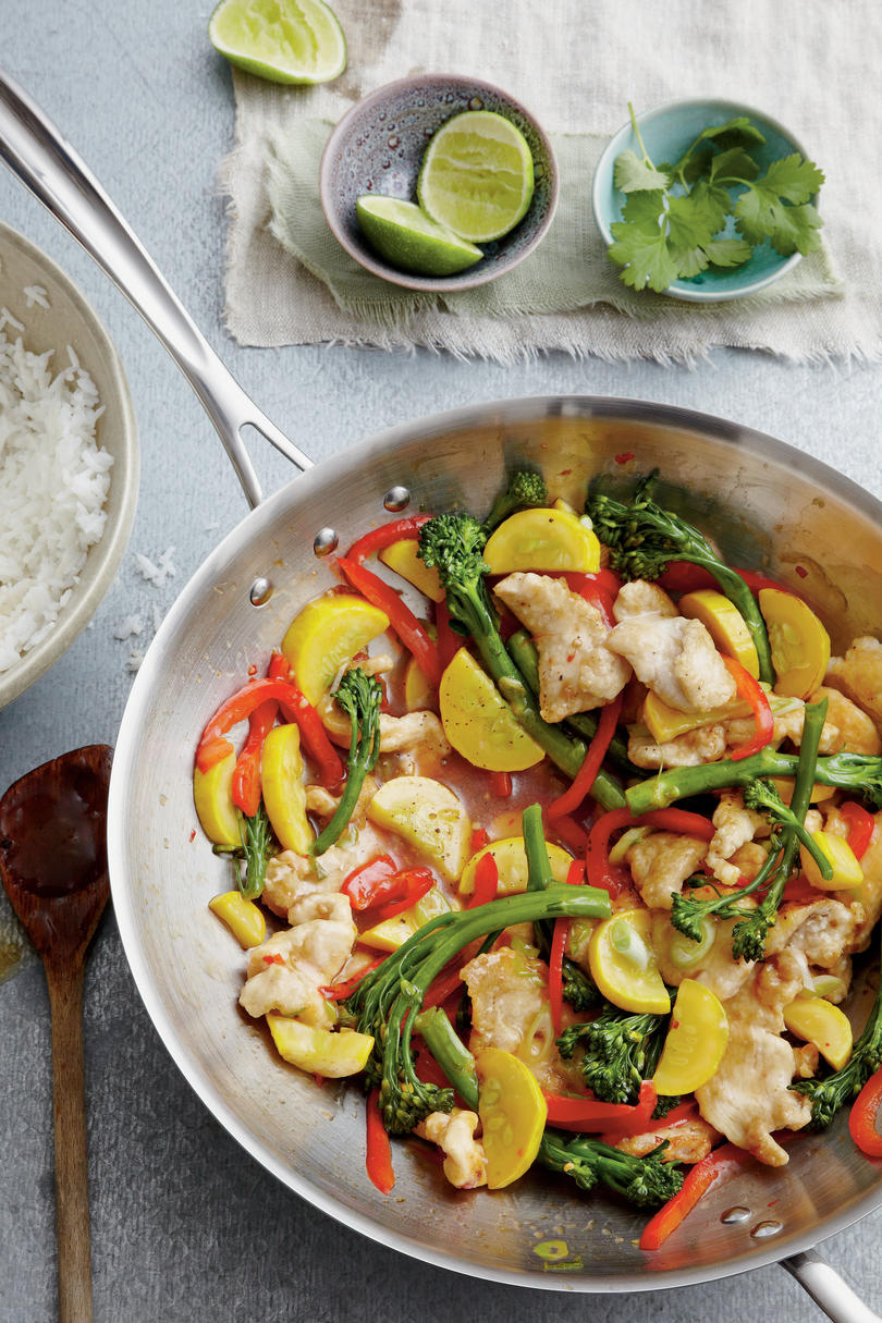 Chicken and Veggie Stir-Fry