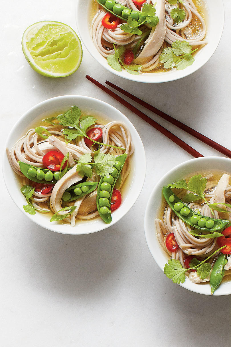 Quick Chicken Noodle Bowls Recipe