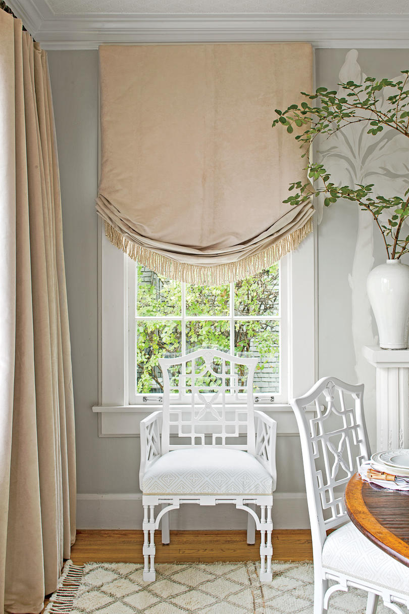 White Dining Room Fabrics