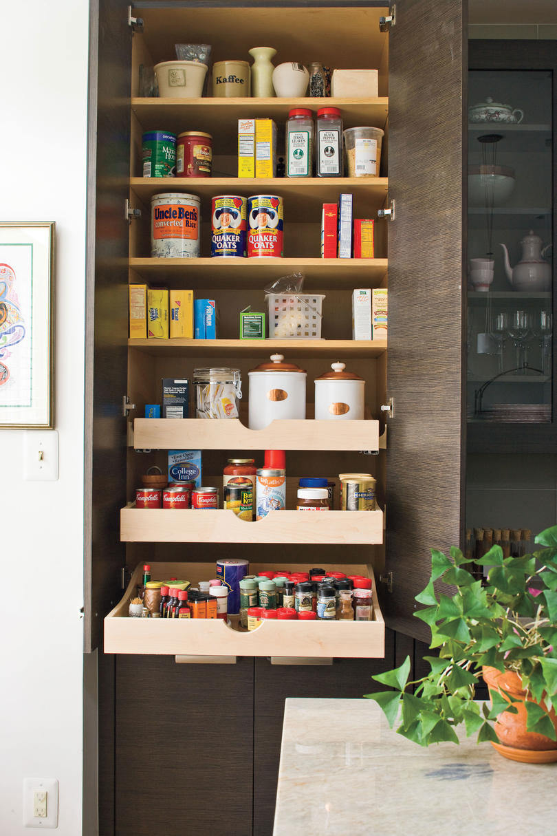 Dream Kitchen Design Ideas: An Organized Pantry