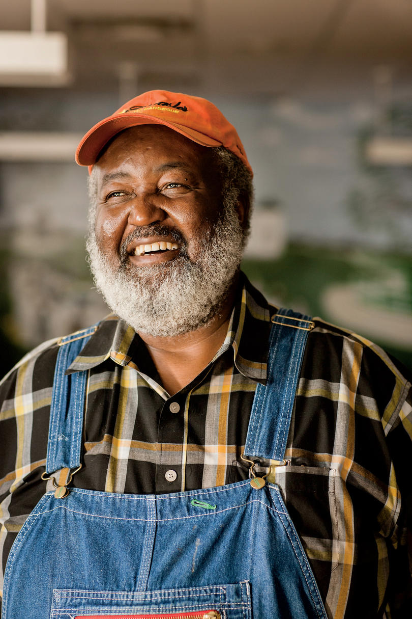 """Ed Mitchell of """"The Pitmaster"""" in Raleigh, North Carolina"""