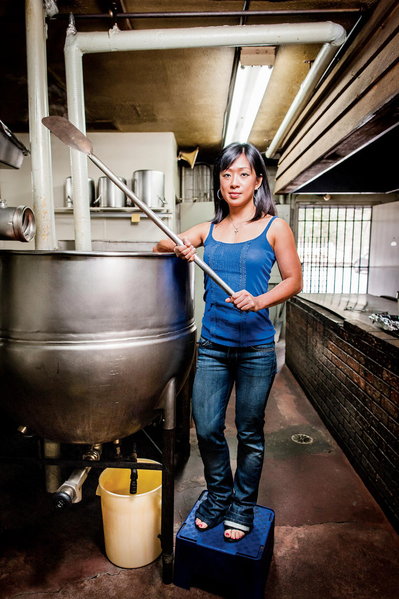 Francisca Andrin of Old Brick Pit Barbeque in Chamblee, Georgia