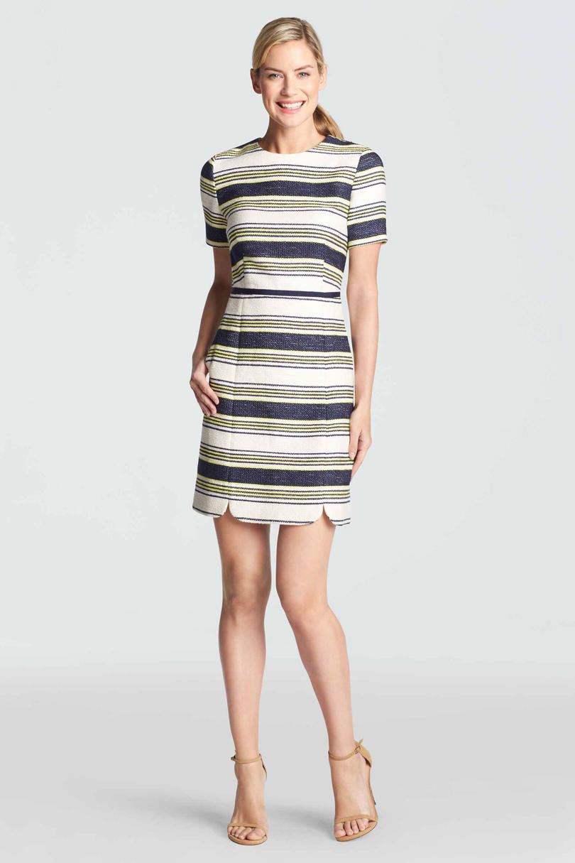 Sterling Stripe Tweed Dress