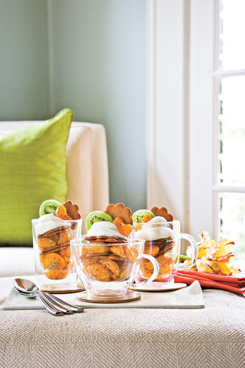 Clementine-Gingersnap Trifles Recipe