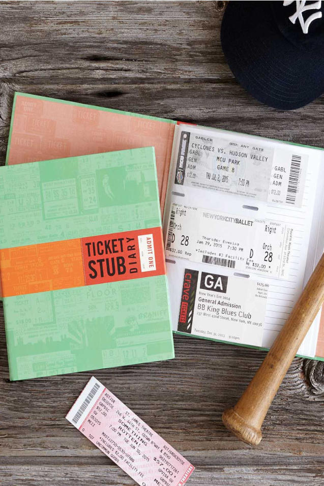 Mother's Day Ticket Book Uncommon Goods Image