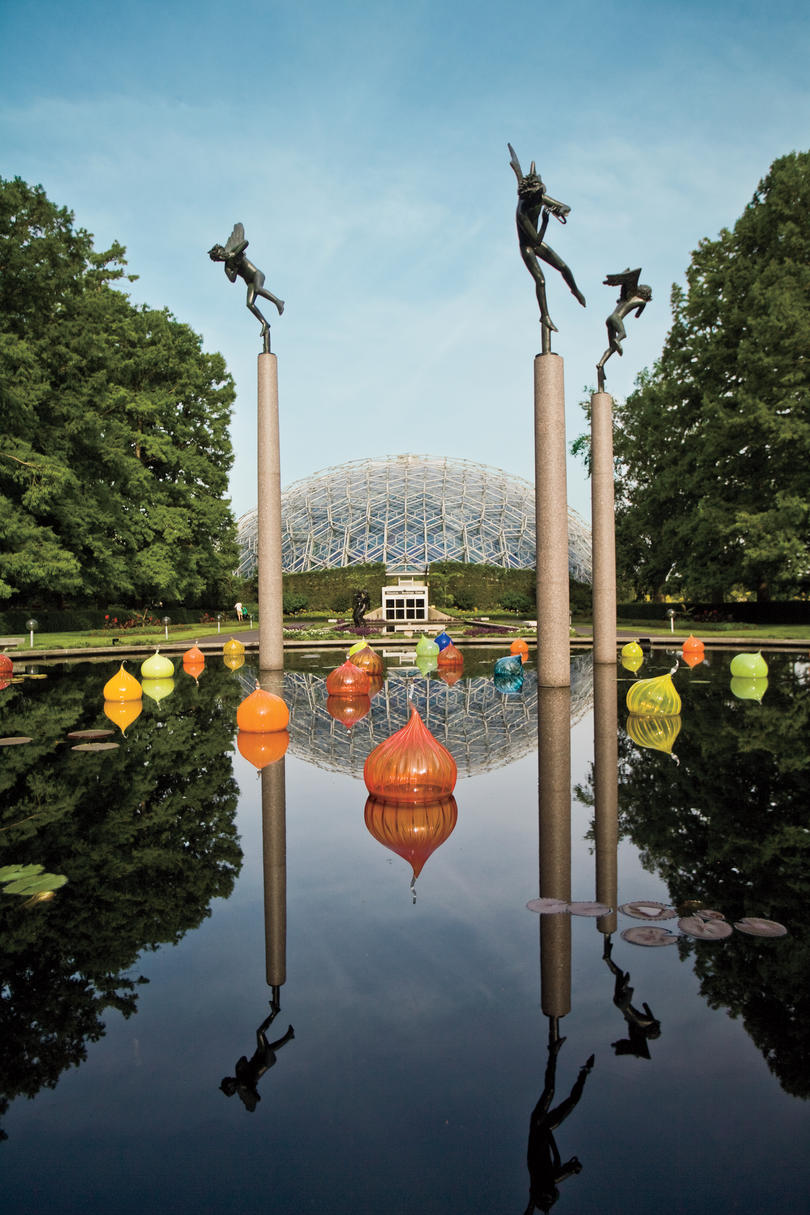 Family, Engagement, and Wedding Portrait Locations: Missouri Botanical Garden