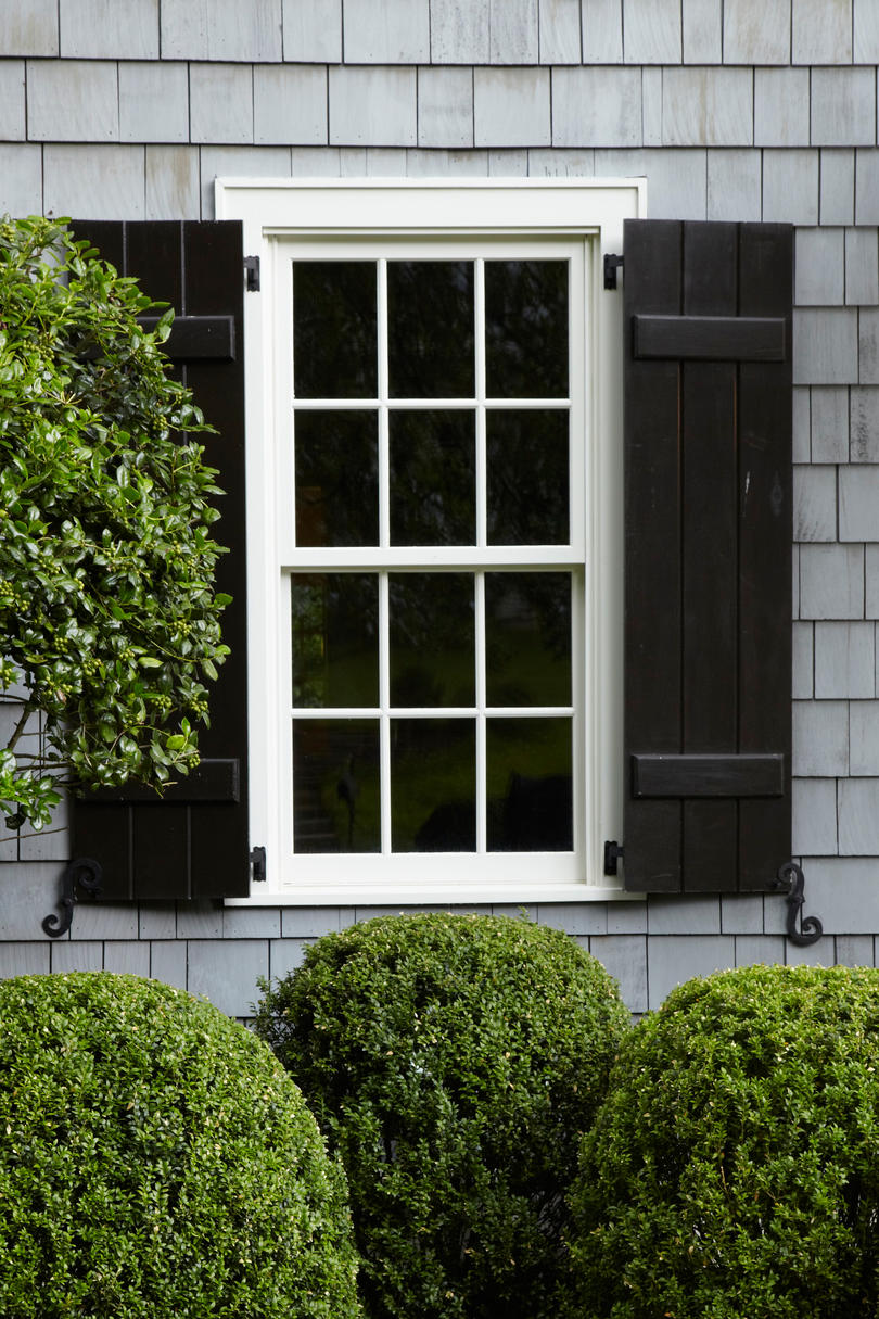 Relaxed Black Shutters