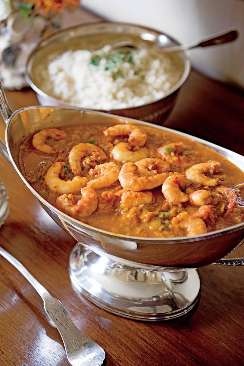 Classic mardi gras recipes southern living shrimp malacca with rice forumfinder Images