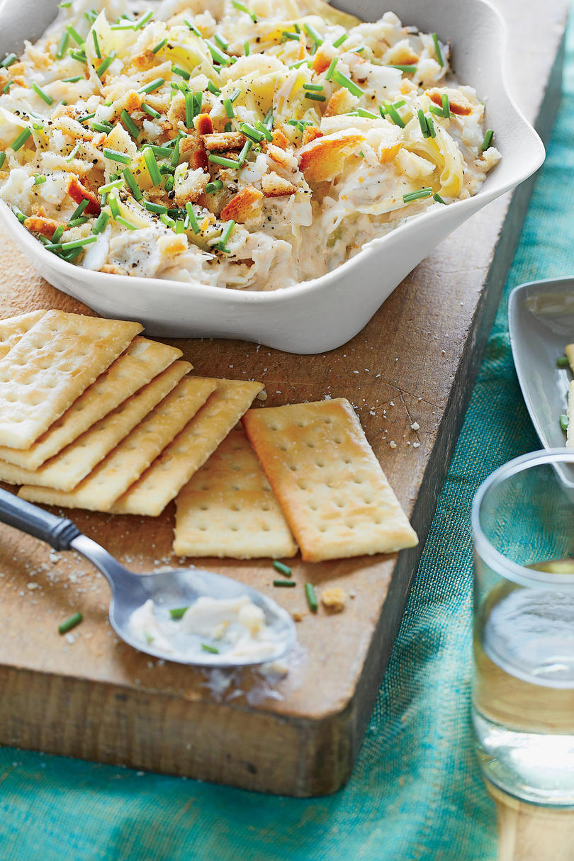 RX_1711 Slow Cooker Christmas Appetizers_Artichoke and Crabmeat Dip Slow Cooker Dips