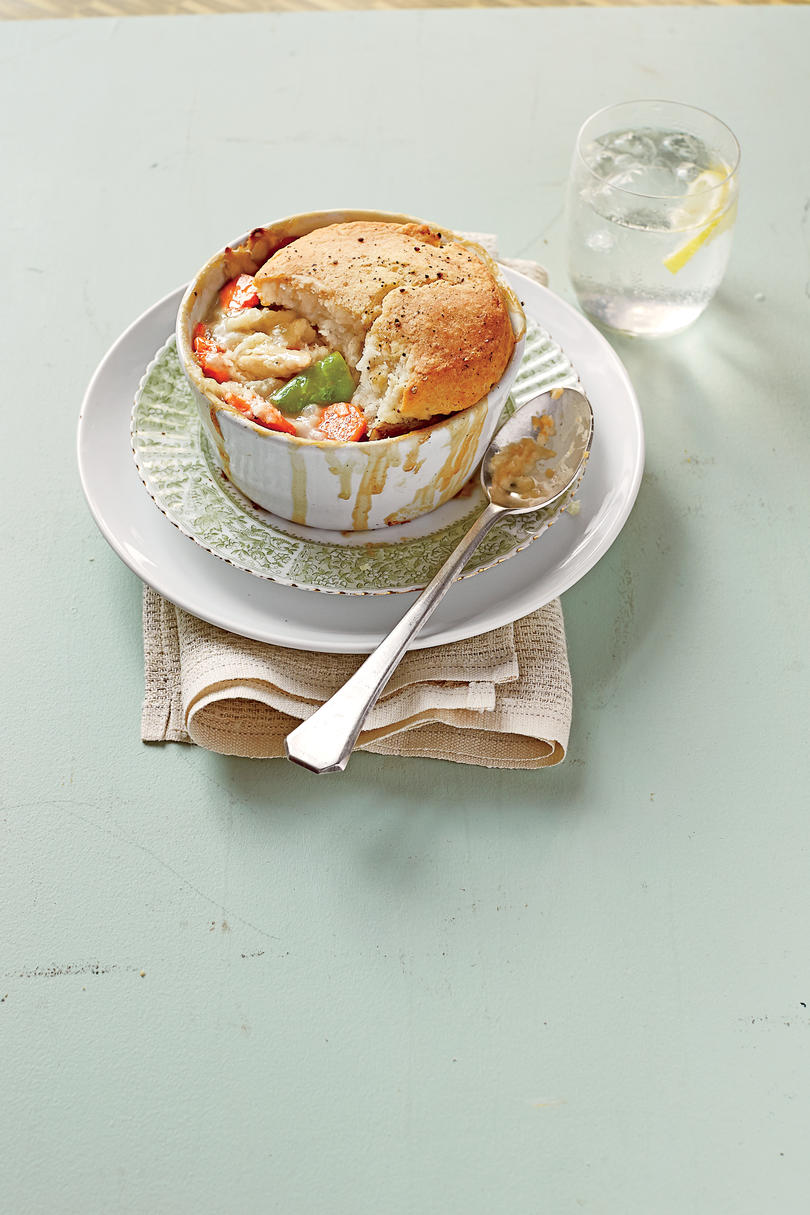 RX_1710_ Freezer Meals for Holidays_Easy Biscuit-Topped Chicken Pot Pie