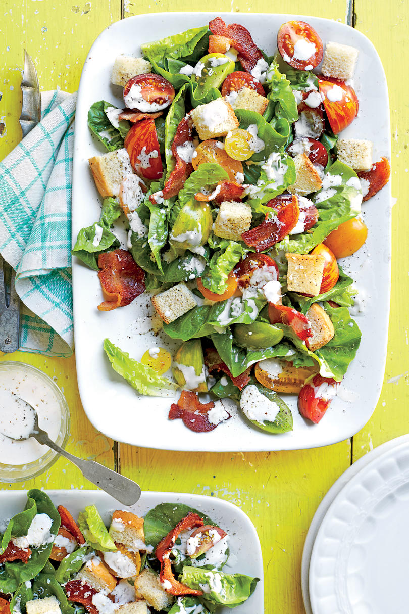 How to make a beautiful salad with fish and cheese