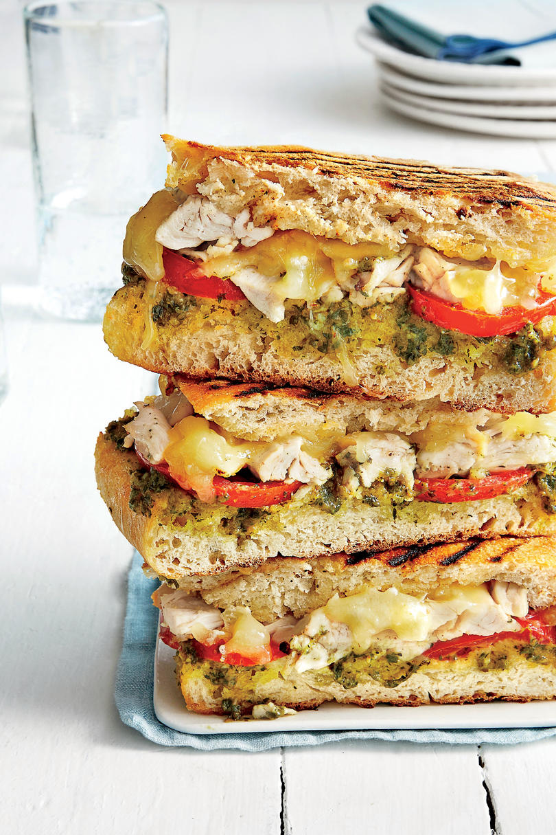 Oh so good panini recipes southern living chicken and fontina panini forumfinder Choice Image
