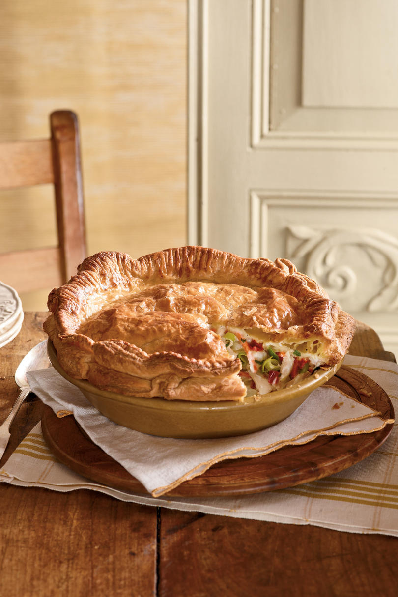 Double-Crusted Chicken Pot Pie