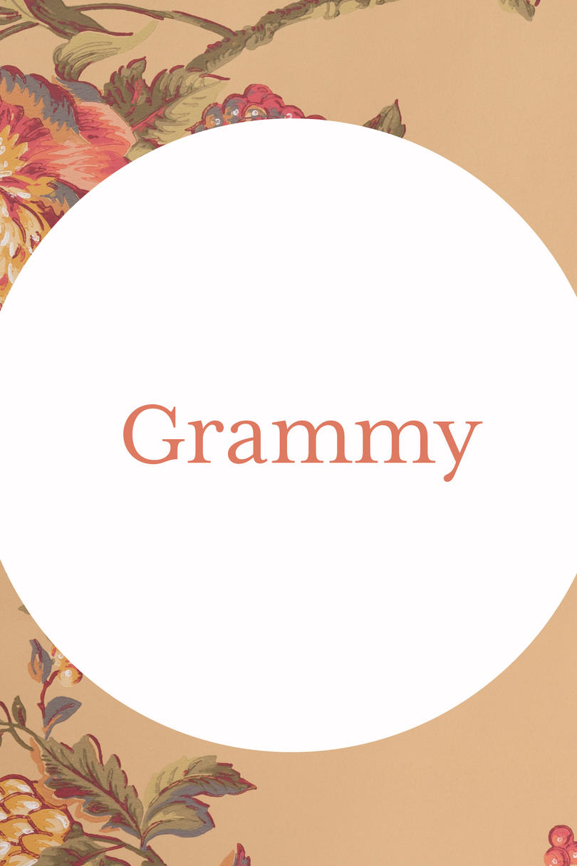 Grammy Grandmother Name