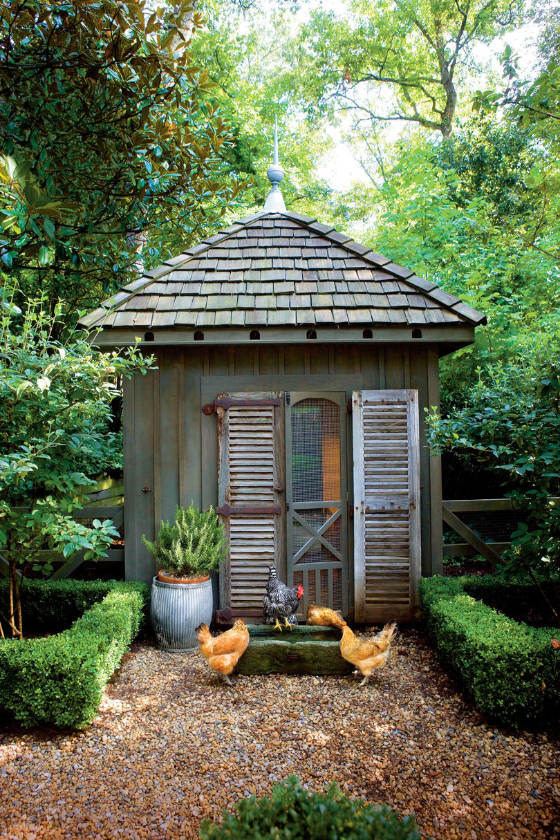 Chicken Coops - Southern Living