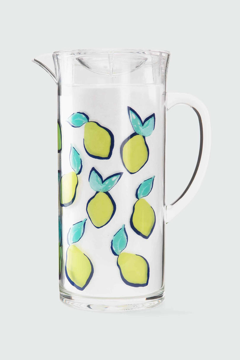 Printed Lemon Pitcher