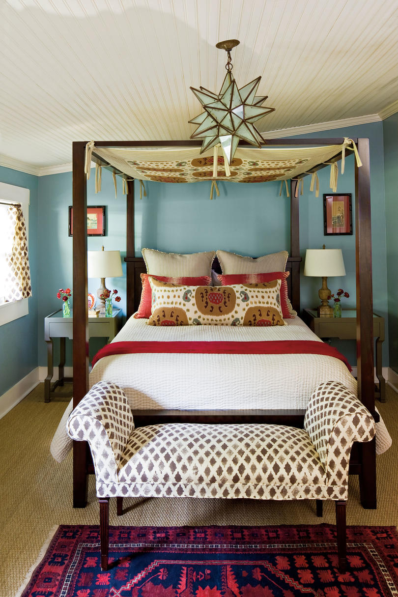 Blue Bedroom Beautiful Blue Bedrooms Southern Living