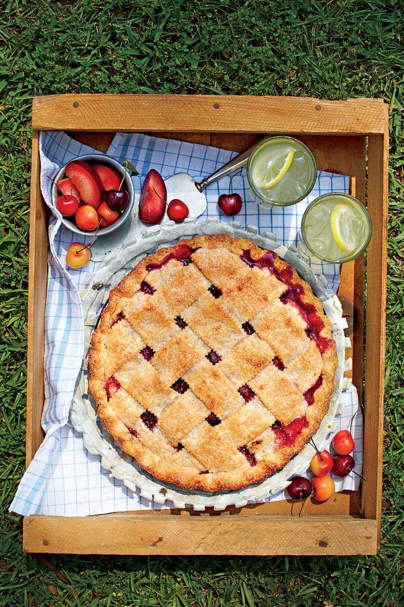 Cherry-Plum Pie