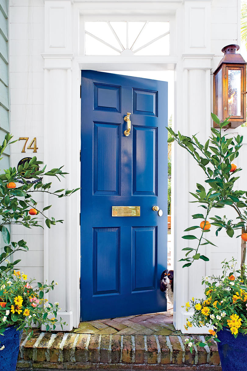 19 Bold Front Door Colors Southern Living