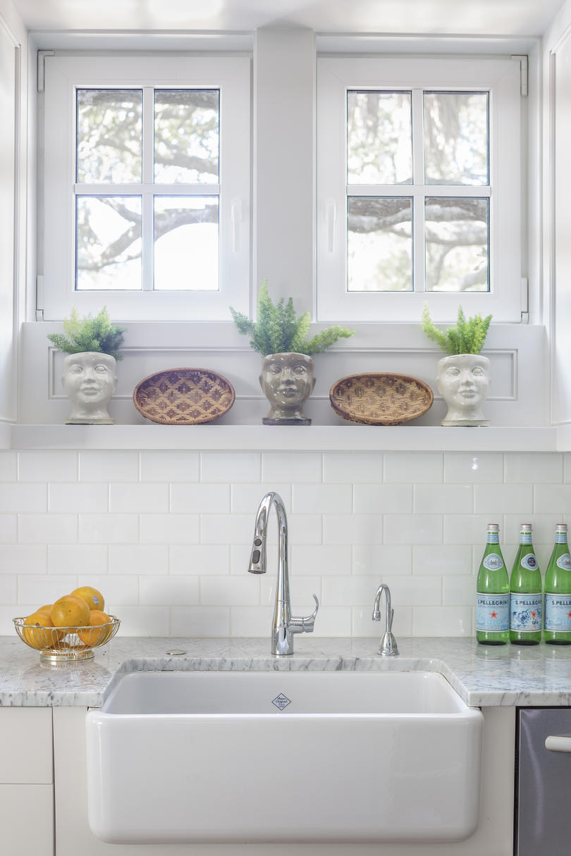 Farm House Sink in Kiawah Kitchen