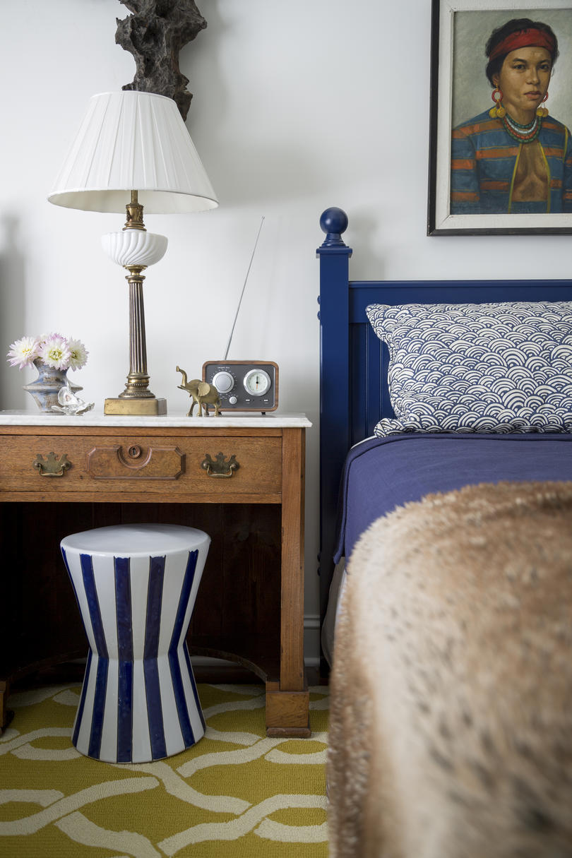 A Nautical Nod in the Twin Bedroom