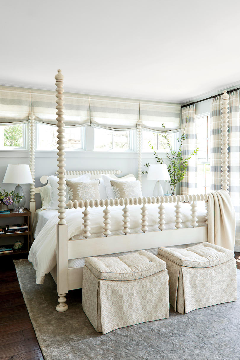 cool modern master light blue bedroom decorating ideas with blue   Beautiful Blue Bedrooms - Southern Living