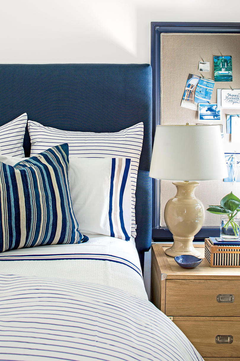 Navy and Cream Boy's Bedroom