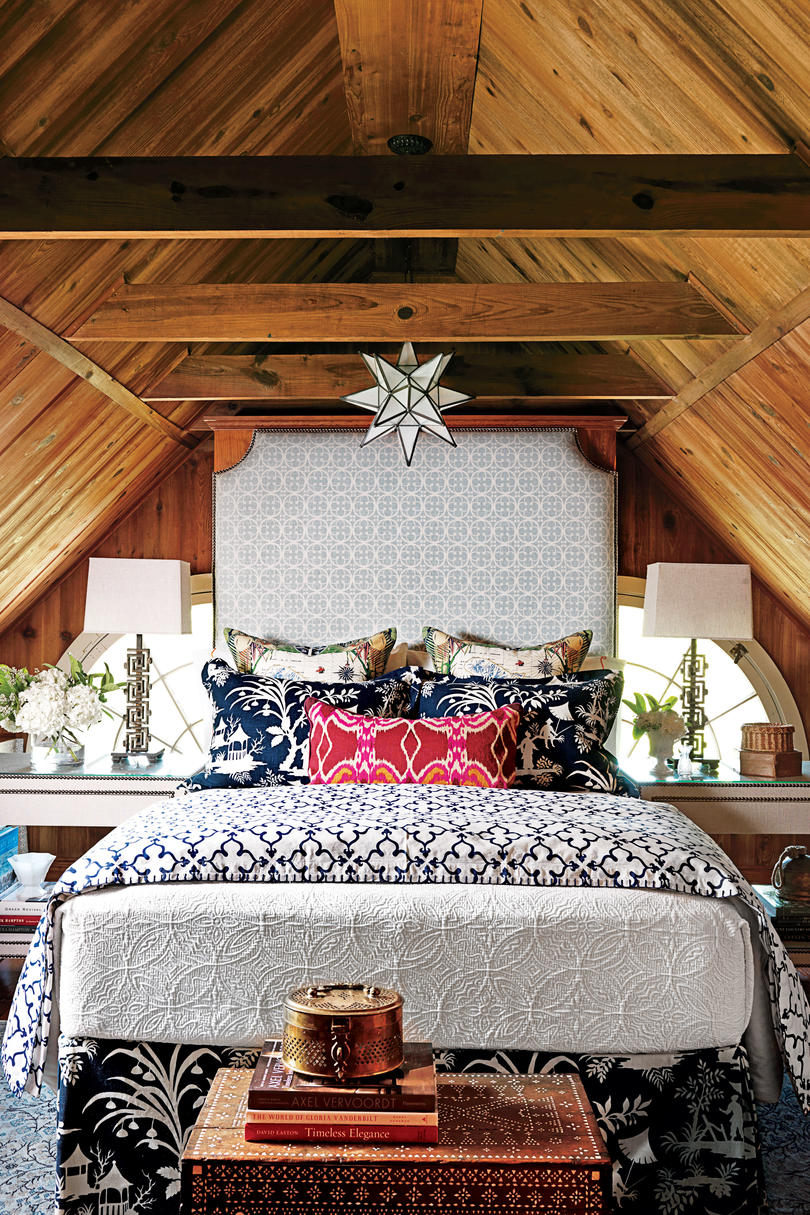 Bohemian Blues Navy Guest Bedroom