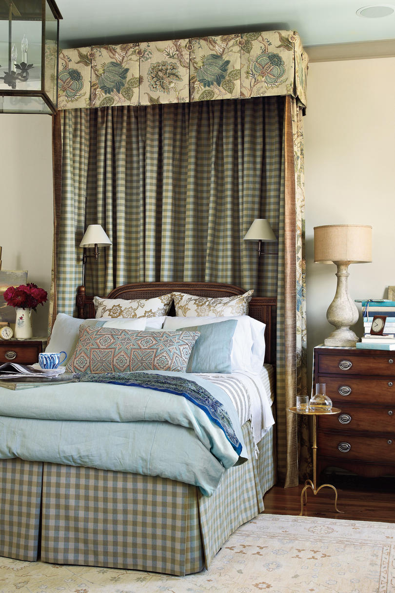 Traditional Blue Bedroom Designs beautiful blue bedrooms - southern living