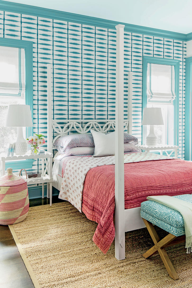 Blue Bedrooms. Turquoise Girls Bedroom Beautiful Blue Bedrooms  Southern Living