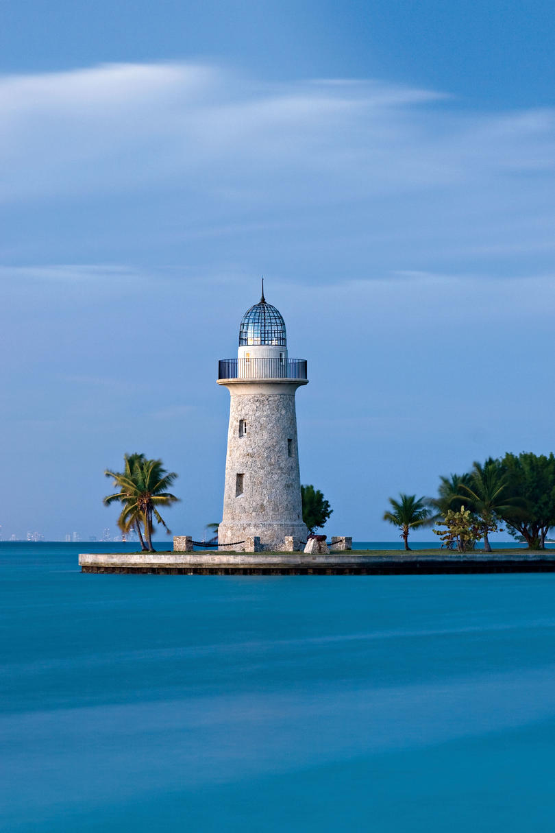 Boca Chita Lighthouse at Biscayne National Park