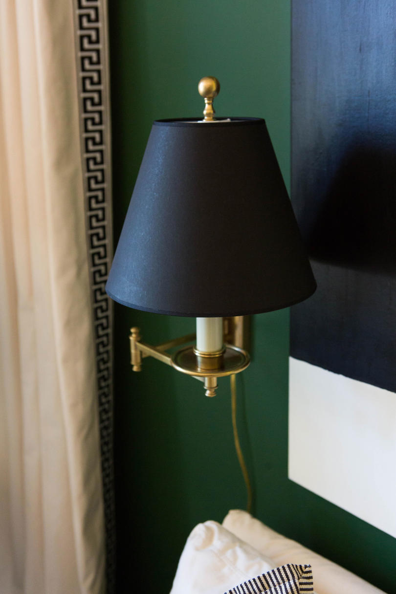 Black and Bronze Wall Sconce