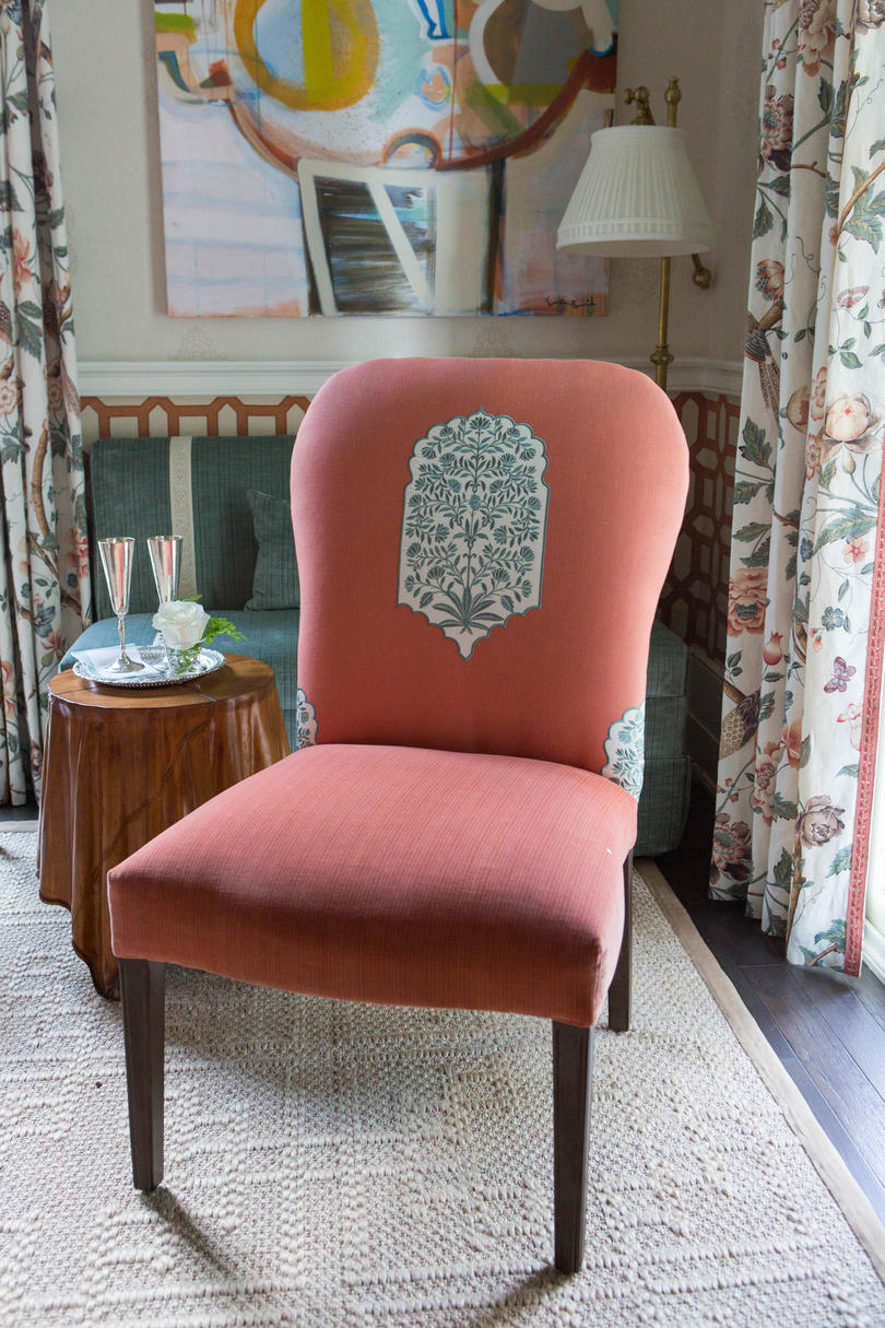 Coral Dining Room Chair