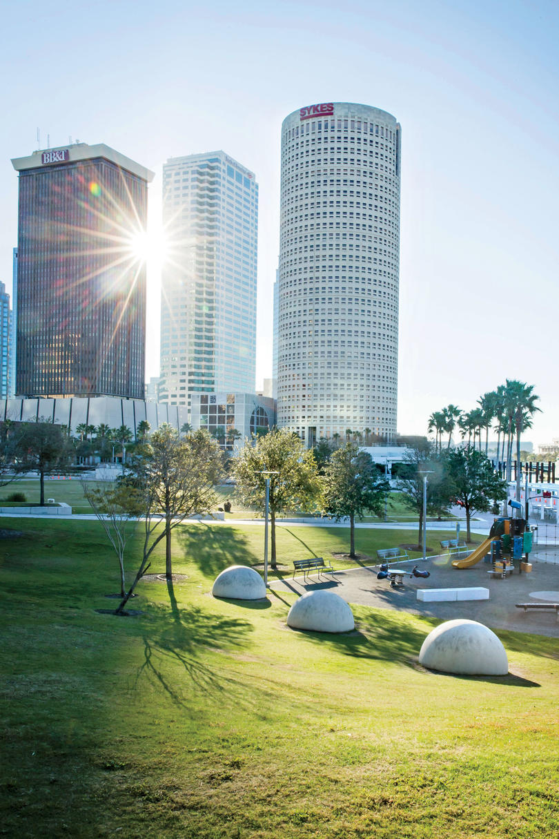 Curtis Hixon Waterfront Park in Tampa, FL