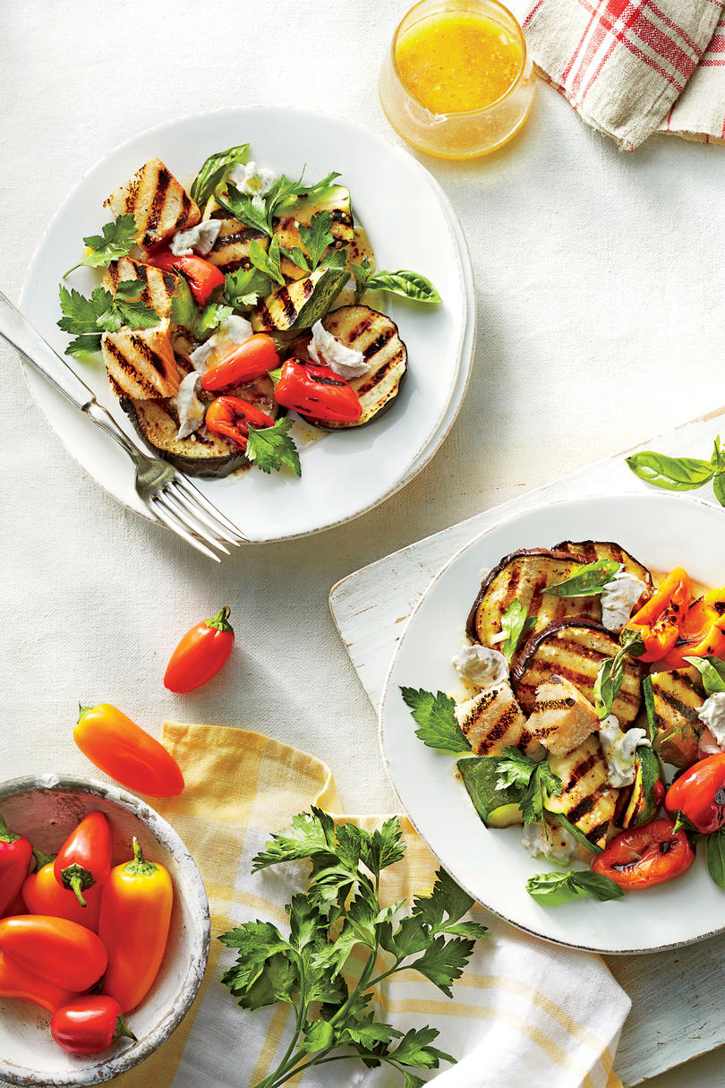 Grilled Southern Garden Salad