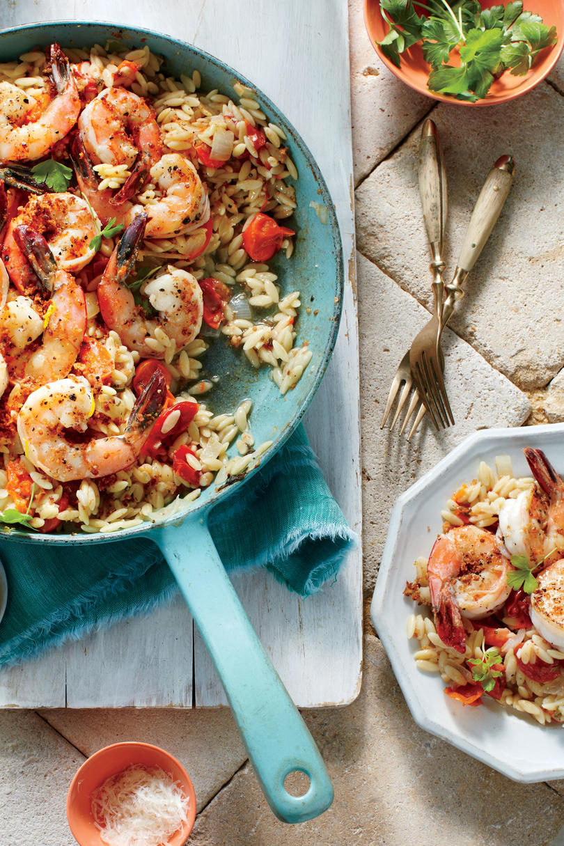 Gulf Shrimp Orzo