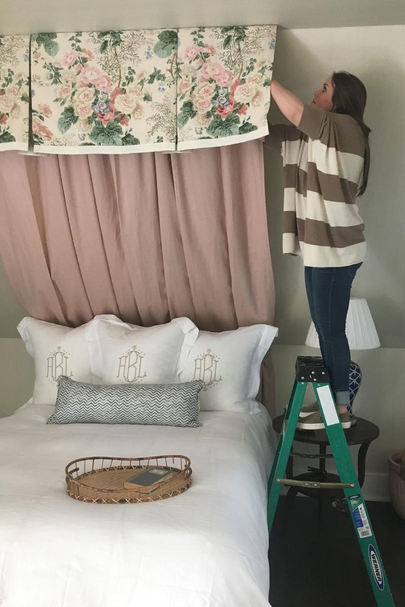 Idea House Bedroom Canopy Install