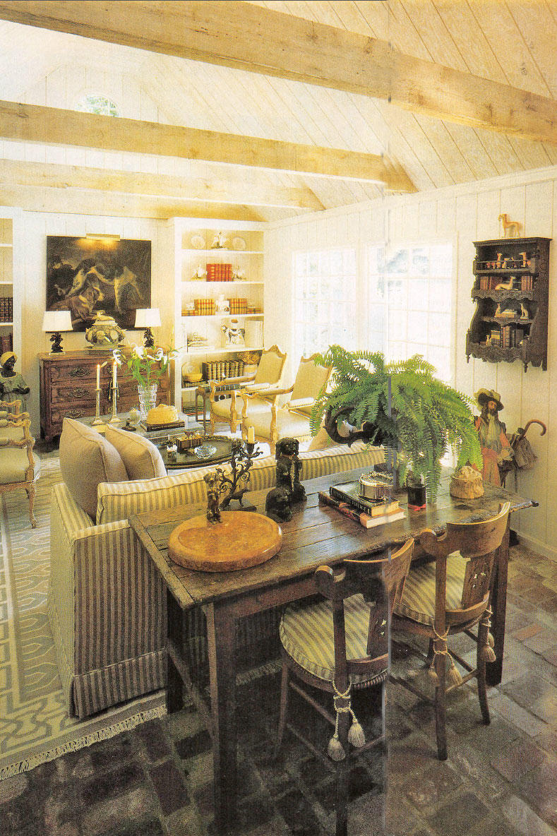 The 2016 idea house southern living for Living room june jordan
