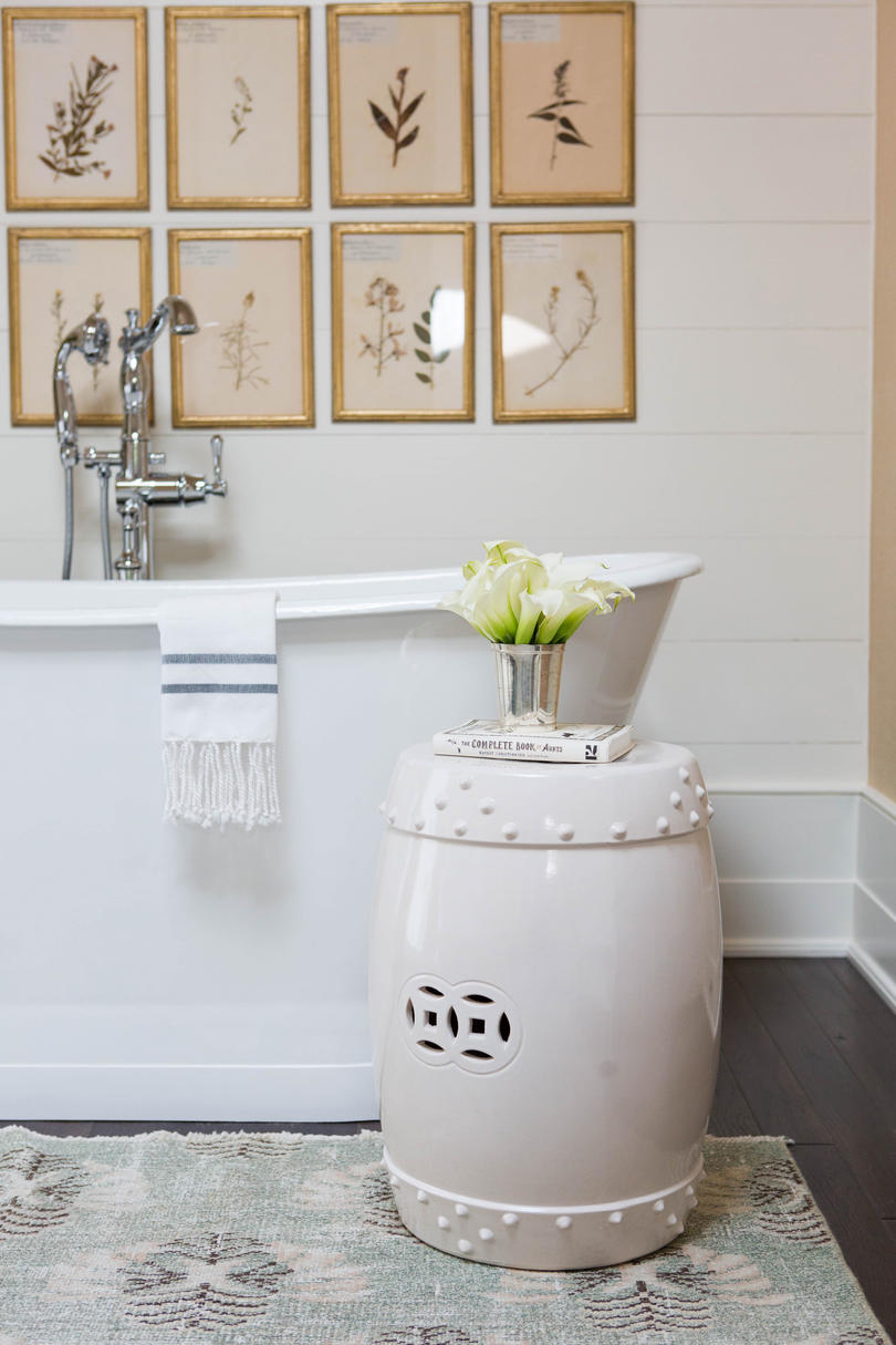 Master Bathroom Botanical Prints