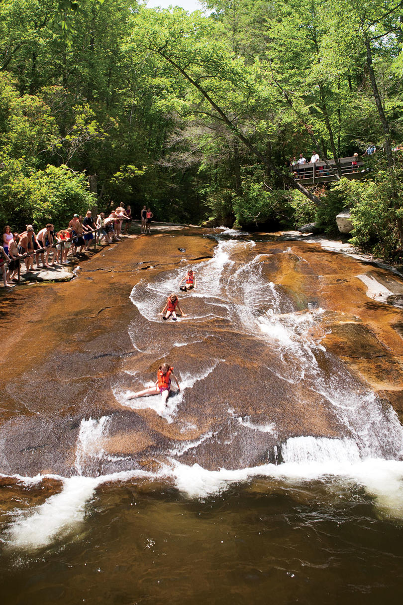 Sliding Rock, North Carolina
