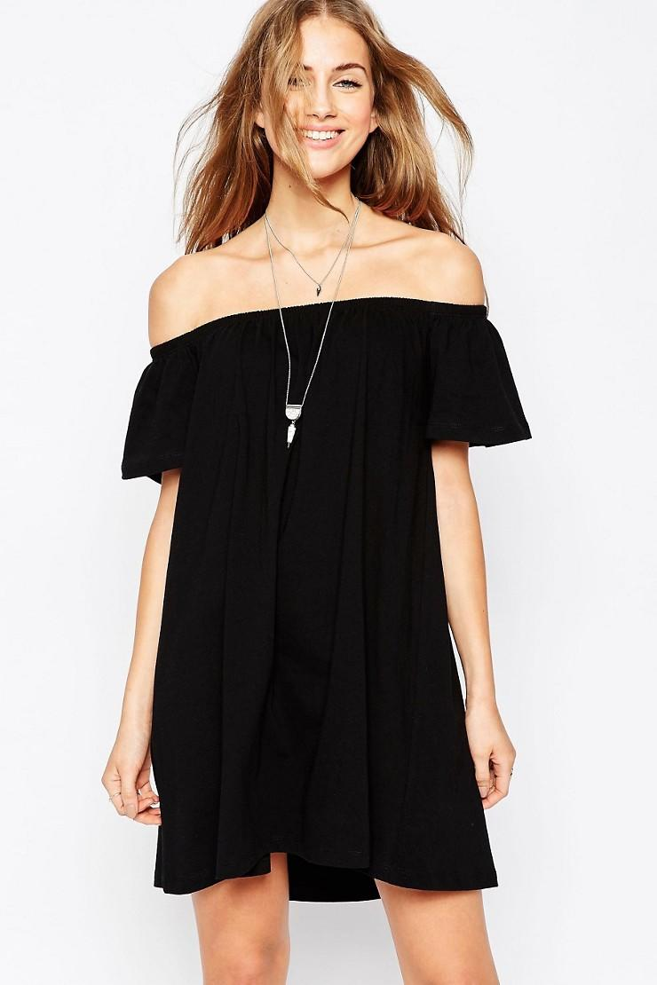 Off Shoulder Mini Dress from ASOS