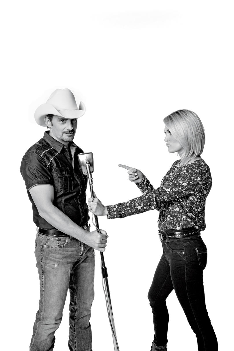 Brad and Carrie
