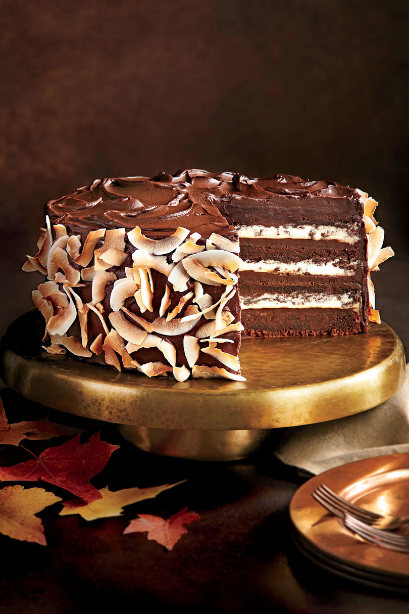 Southern Living Chocolate Coconut Layer Cake