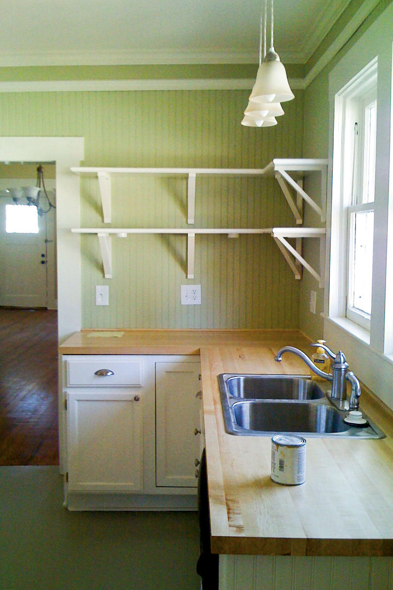 Cottage Kitchen Before