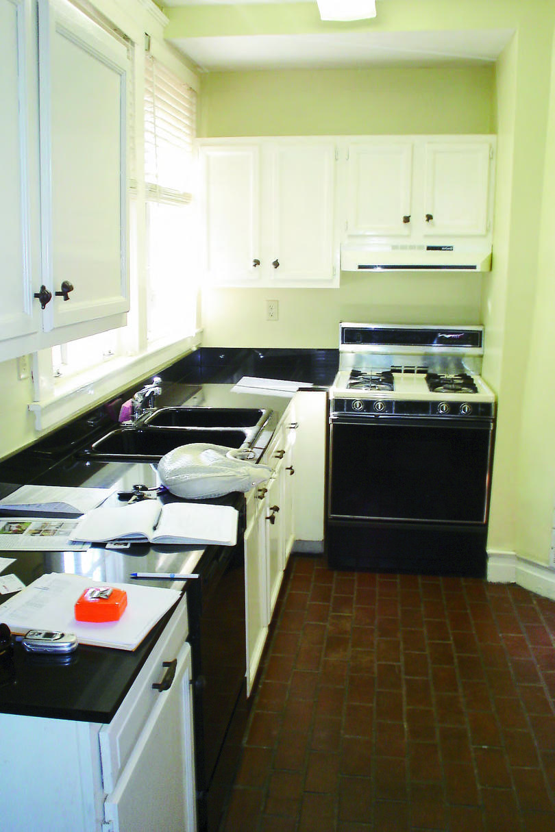 Thuston Small Kitchen Before