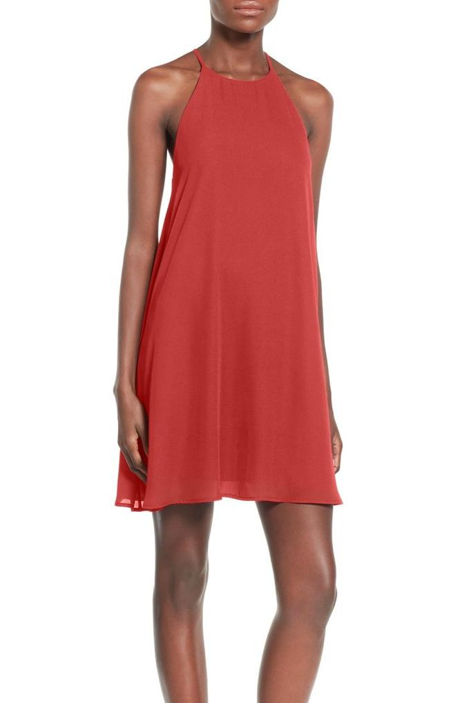 High Neck Trapeze Dress from Everly