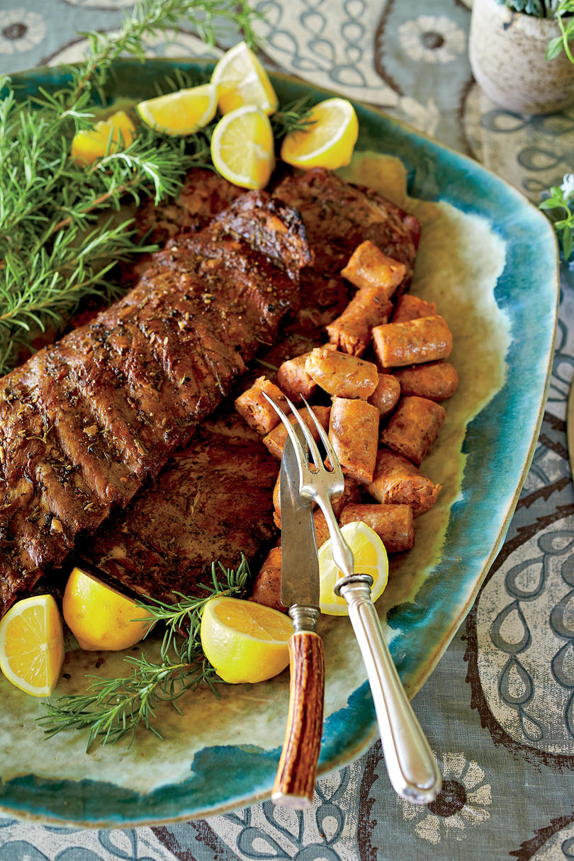 Grilled Italian Spare Ribs